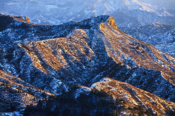 京金山岭 承载历史的冰雪皇后图片