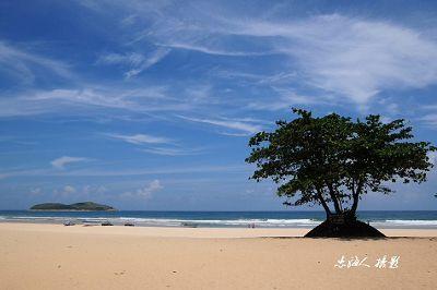 南国景观 实拍美丽动人的石梅湾
