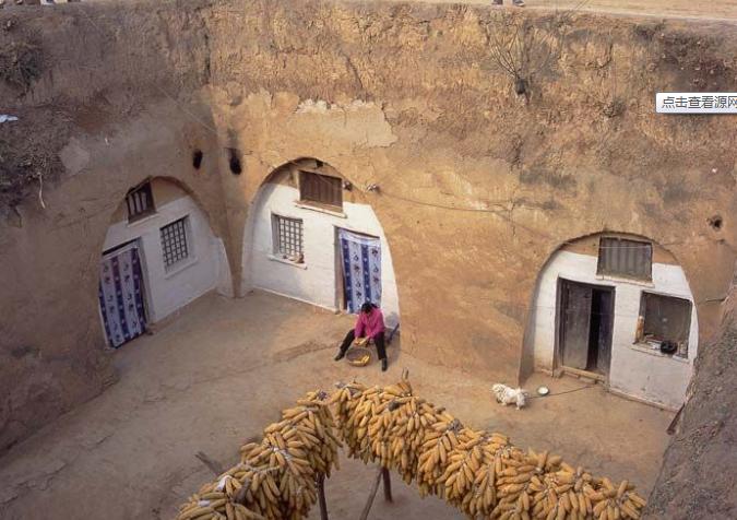 陕西延安:黄土高原与窑洞的世界(图)