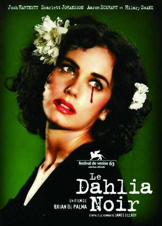 电影《黑色大丽花》海报。