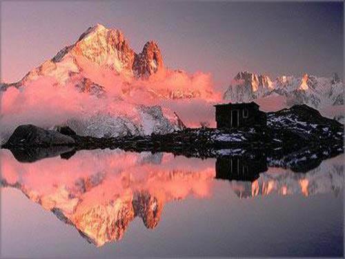瑞士冰川小镇