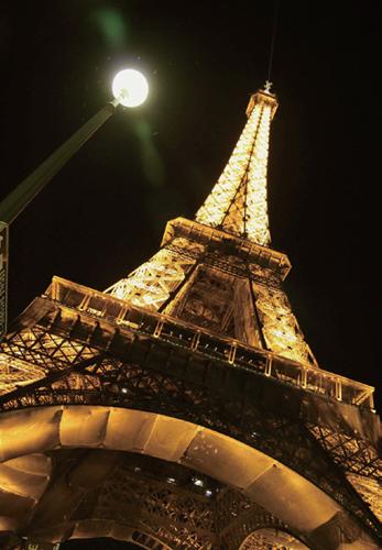 埃菲尔铁塔夜景