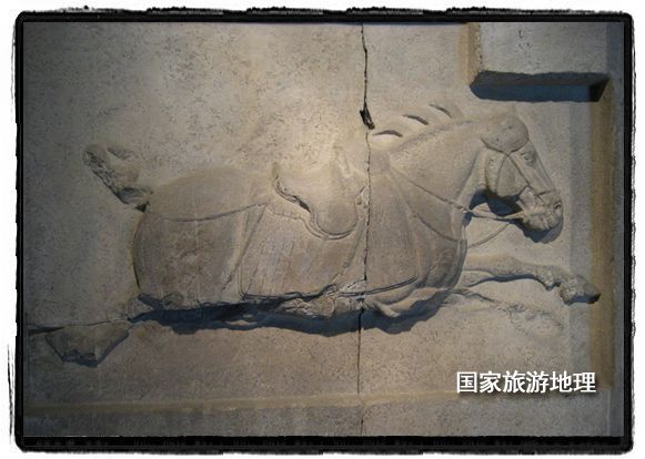 陕西咸阳:稀世珍宝,昭陵六骏(图)