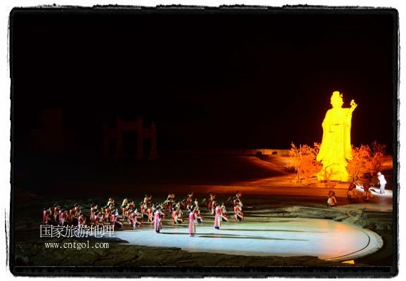 婺源大型山水实景演出《梦里老家》第三季正式开演(图)