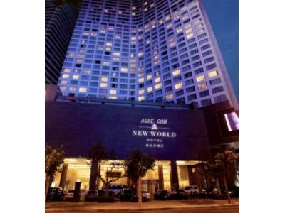 座在浴缸看海景AG 新世界酒店马尼拉湾风情无限