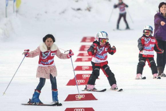 滑雪手工制作流程
