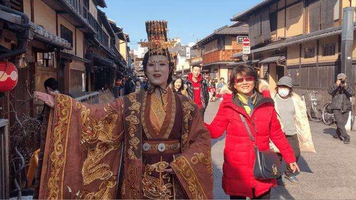 梦回古洛阳 探访前世情 日本京都惊现武则天穿