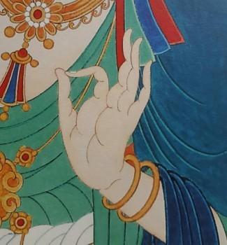 以禅心绘艺术——温锦云的佛画人生