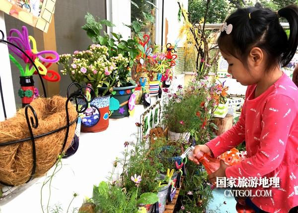 杭州:自然角里的哇时刻记录(图)