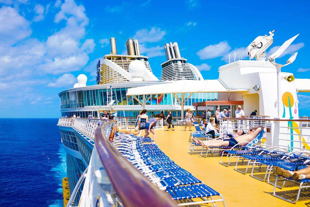 佛罗里达海滨度假天堂/海洋魅力号邮轮上