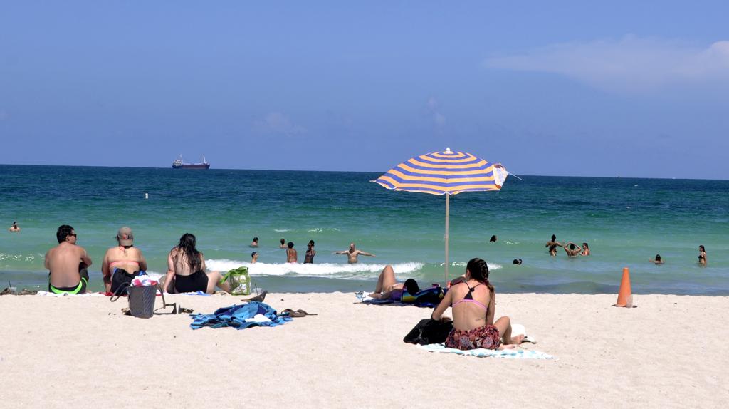 佛罗里达海滨度假天堂/迈阿密海滨浴场