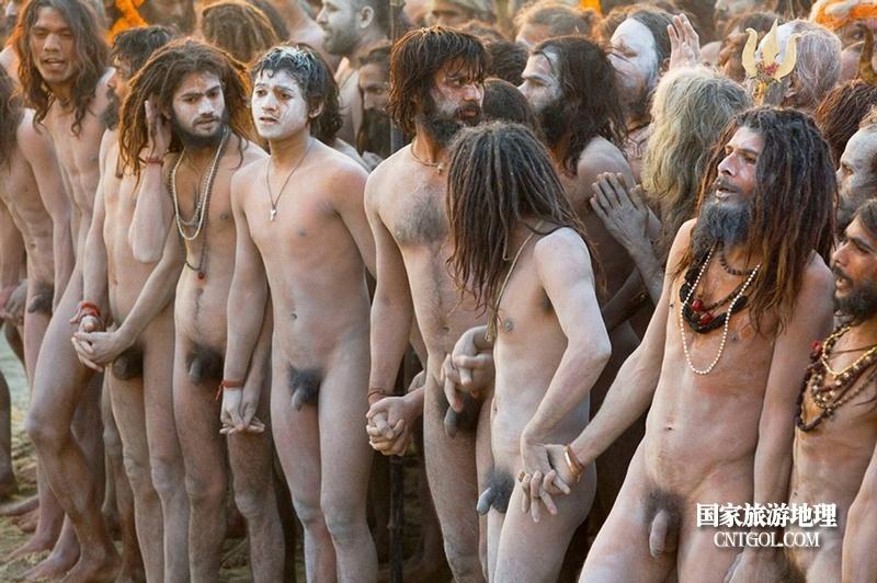 印度人救赎灵魂的大壶节/大壶节上的苦行僧们