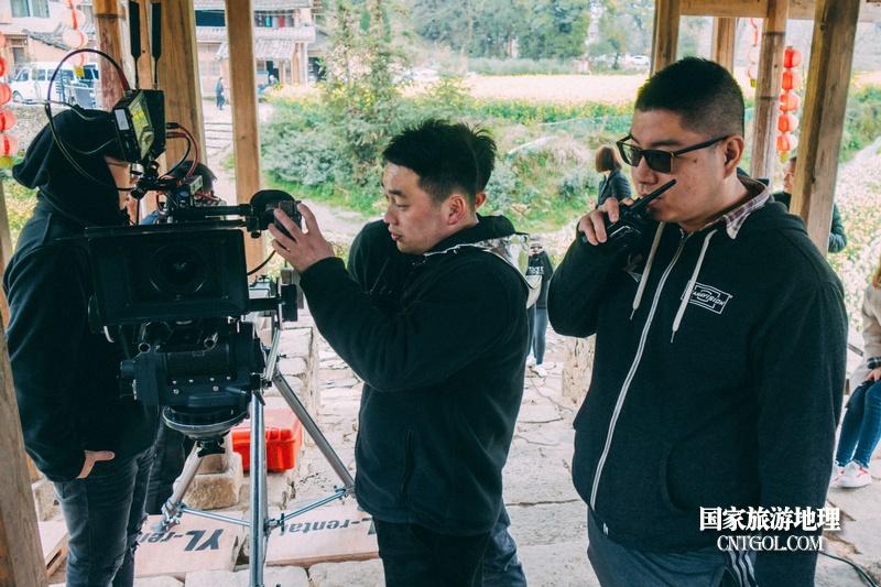《挺进师》纪录片在温州泰顺开拍/制片和摄影师现场工作中