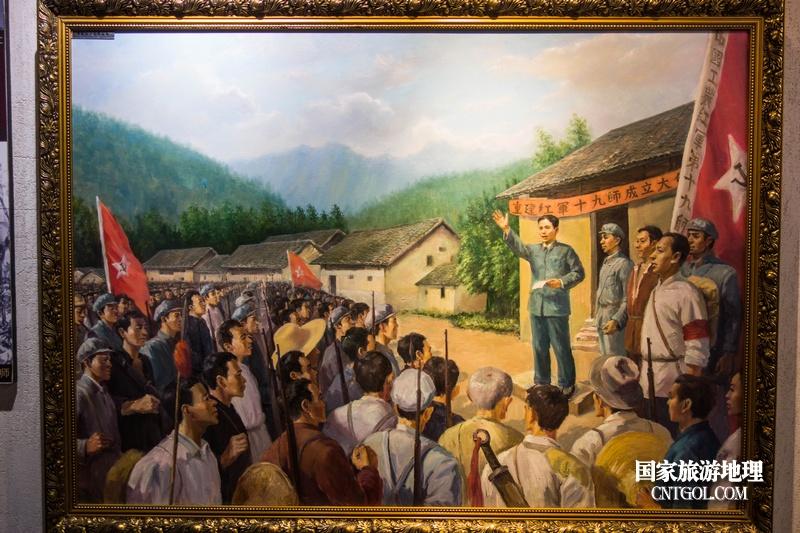 《挺进师》纪录片在温州泰顺开拍/