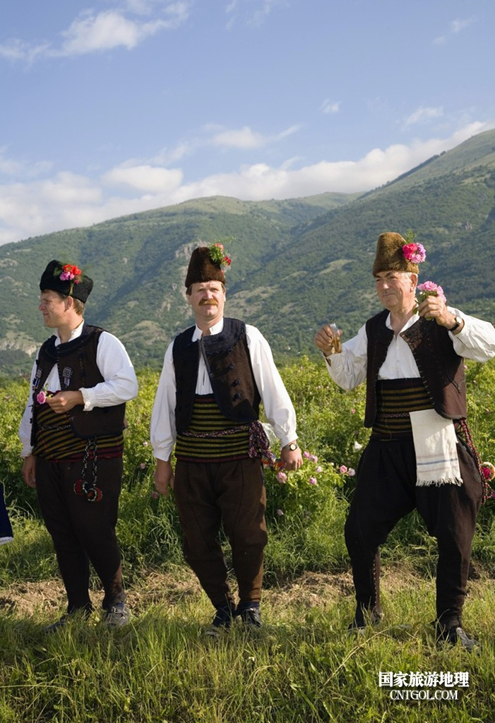 在那玫瑰花盛开地方保加利亚/爱花的保国男人