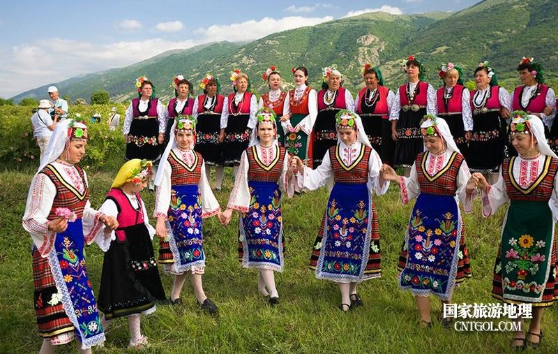 在那玫瑰花盛开地方保加利亚/保加利亚民族舞