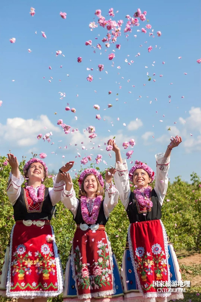 在那玫瑰花盛开地方保加利亚/仙女散花
