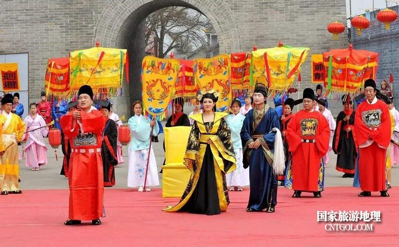 """走进""""中国花鼓之乡""""山西翼城/翼城城内古城民俗文化旅游节"""