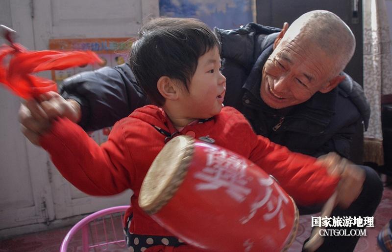 """走进""""中国花鼓之乡""""山西翼城/翼城花鼓从孩子开始抓起"""