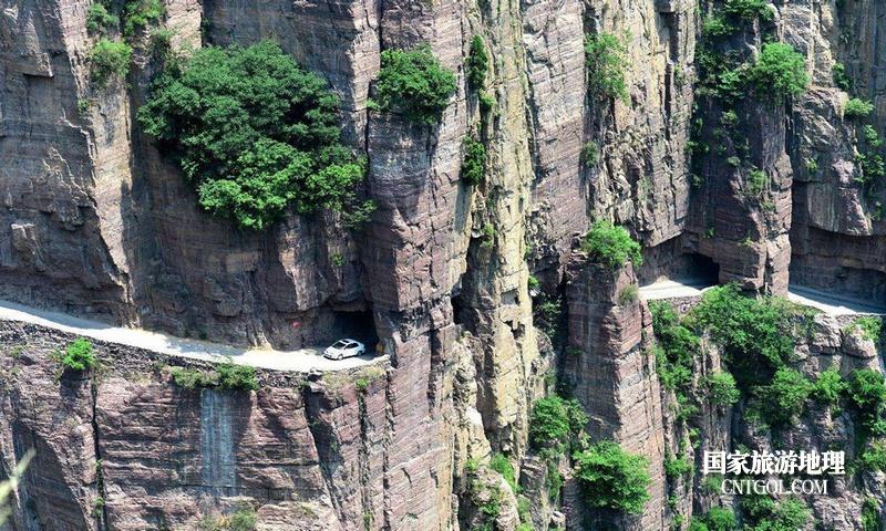 登过山西王莽岭何须五岳攀/南太行世界奇观--挂壁公路