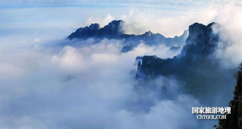 登过山西王莽岭何须五岳攀/人间仙境王莽岭