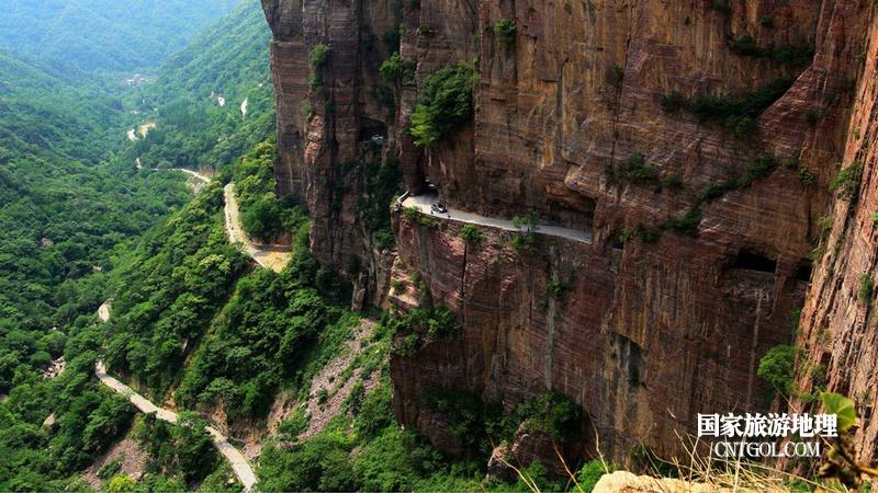 登过山西王莽岭何须五岳攀/郭亮村挂壁公路
