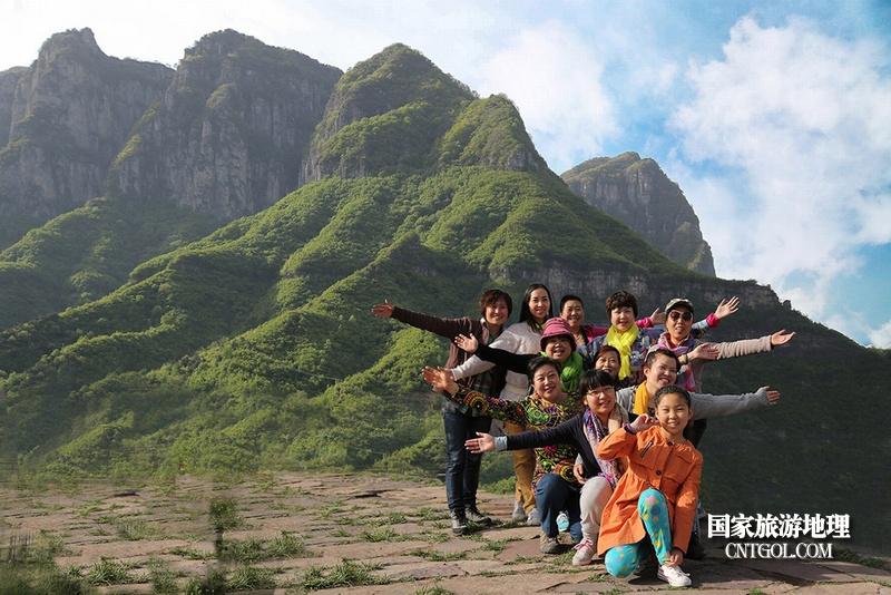 登过山西王莽岭何须五岳攀/王莽岭上开心的游人