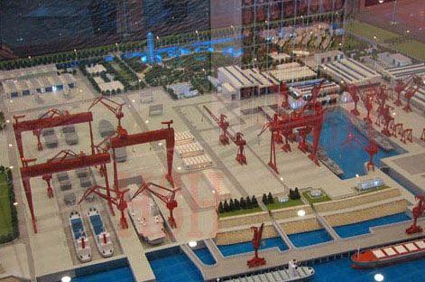 美媒:中国造航母船厂的独家内部照片被泄露