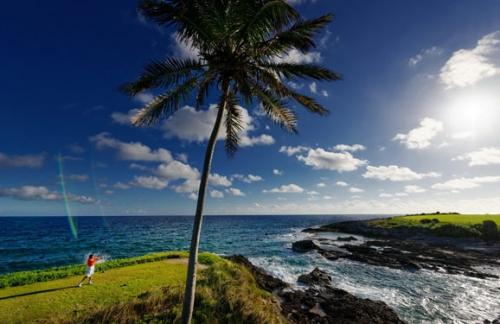加勒比海中的伊甸园巴哈马 老虎伍兹的休闲度假港湾