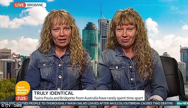 震惊!澳双胞胎参加访谈 异口同声回答所有问题