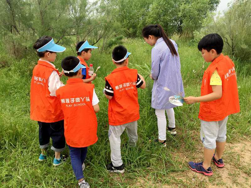 郑州黄河湿地自然保护区开展青少年自然教育课