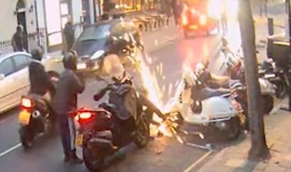 英警方通缉摩托车盗窃团伙 偷车贼系惯犯