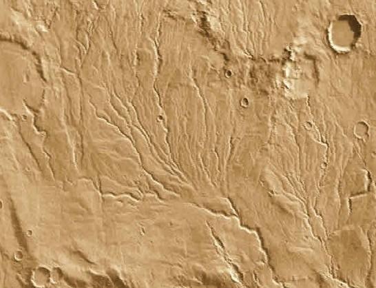 火星上为何有河床而没有流水?