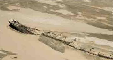 邪门怪异的纳米比亚骷髅海岸之谜