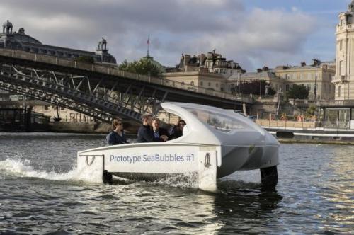 水上出租车巴黎试航成功 另类出行将替代传统