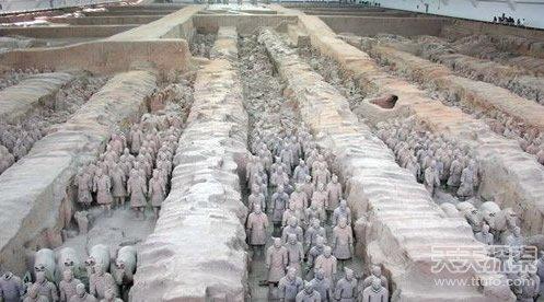 秦始皇陵十大著名未解之谜 传说九层妖塔惊现