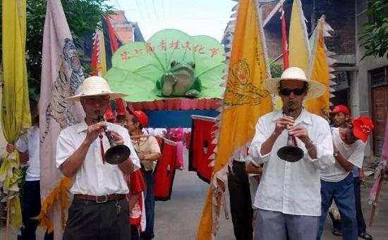 延平区举办第七届樟湖溪口崇蛙文化节