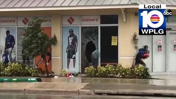 美佛州遭飓风侵袭 盗匪趁机偷盗被逮捕