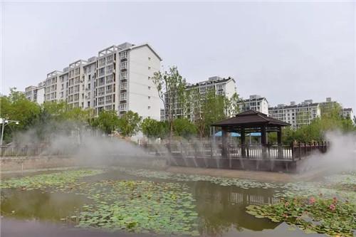 中北镇风雨园林广场北园正式开放 居民收获满满幸福感