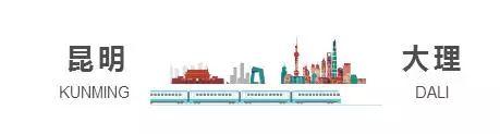 7月起,从贵阳坐着高铁去大理,一路向南美景全收录