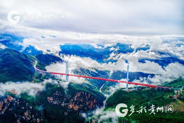 """赞!贵州此雕刻座父亲桥荣获""""世界最高桥""""之称载入吉尼斯纪录"""