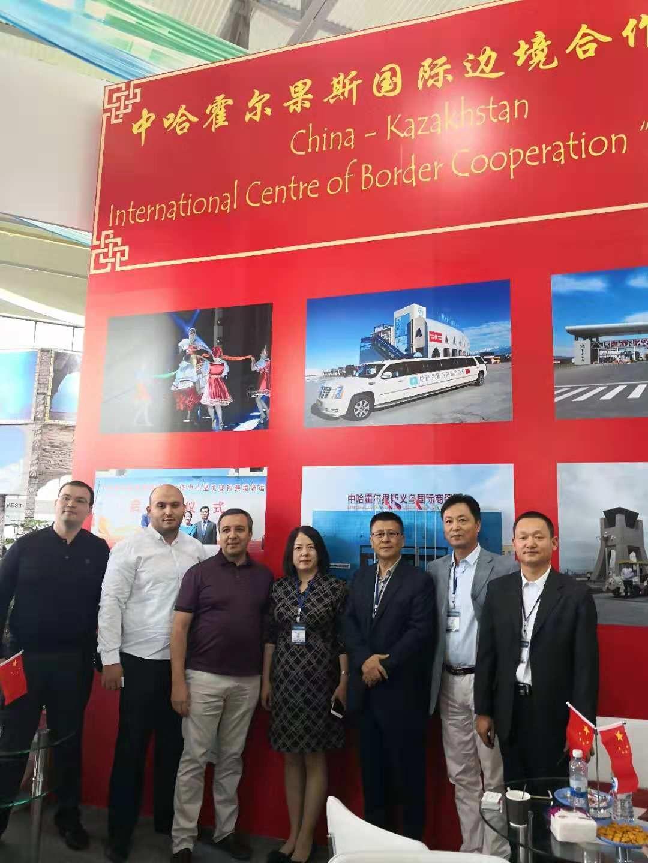 """霍尔果斯市积极组团参加乌兹别克斯坦塔什干举办的""""丝路旅游""""国际旅游展会"""