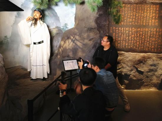 央视《中国影像方志》栏目组走进新昌博物馆