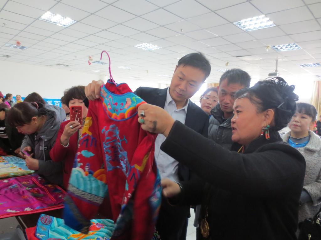 和静县旅游局举办首届刺绣培训班