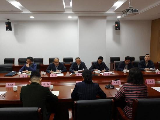 杭州市园林文物局领导调研余杭区文物工作