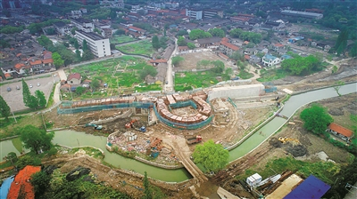 慈城大东门原址重建将再现古县城东南整体景观格局