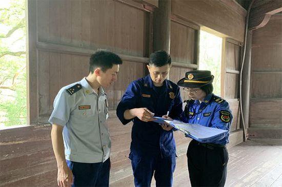 杭州西湖名胜区开展文保单位消防安全大检查
