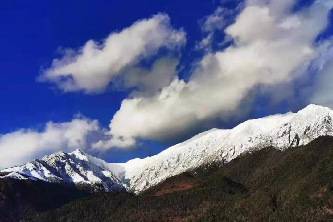 大理荣登《人民日报》、央视新闻和热搜的苍山雪合集